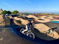 Venez découvrir la piste de Pumptrack à Merville-Franceville-Plage