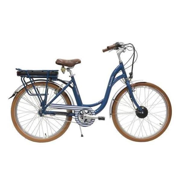 Vélo de ville à assistance électrique 26'' H46, Vert de Gris, 3V Nexus, 36V, Alu